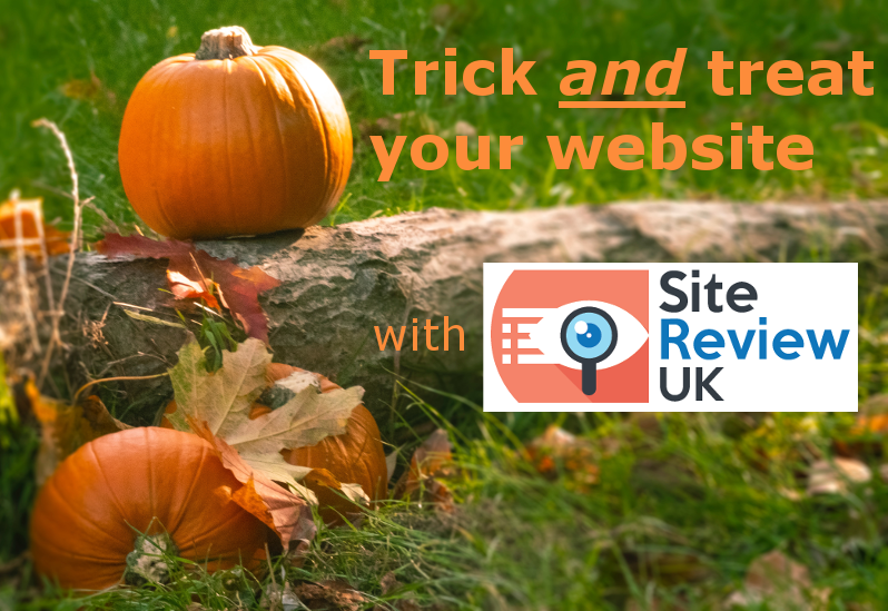 SEO tricks - Trick and treat your website with Site Review UK