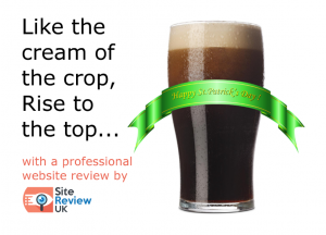 Like the cream of the crop, rise to the top... with a professional website review by Site Review UK